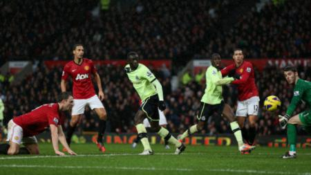 Manchester United vs Newcastle di boxing day 2012. - INDOSPORT