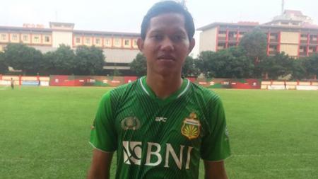 Adam Alis meminta maaf ke Jakmania karena sempat selebari ketika Bhayangkara FC berhasil menahan imbang Persija Jakarta. - INDOSPORT