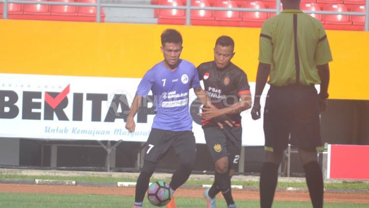 Winger andalan Sriwijaya FC, Yogi Rahadian Copyright: Muhammad Effendi/INDOSPORT