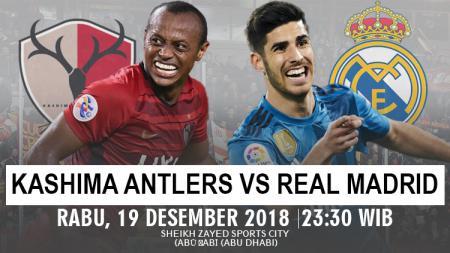 Prediksi pertandingan Kashima Antlers Vs Real Madrid - INDOSPORT