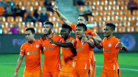Skuat FELDA United di kompetisi sepak bola Liga Super Malaysia. - INDOSPORT