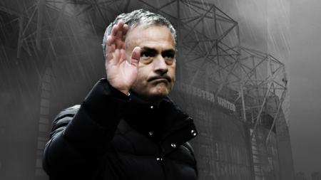 Jose Mourinho resmi dipecat dari Manchester United pada bulan Desember 2018. - INDOSPORT