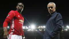 Indosport - Jose Mourinho dan Paul Pogba