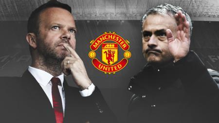 Ed Woodward dan Jose Mourinho - INDOSPORT