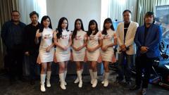 Indosport - Tim eSports girl band Cherrybelle, MegaKiss.