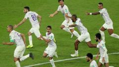 Indosport - Ekspersi kebahagian pemain AL Ain usai taklukan River Plate di Piala Dunia Antara Klub 2018.