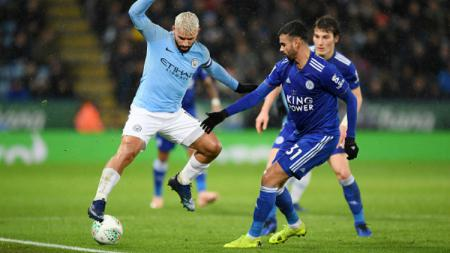 Leicester City vs Manchester City - INDOSPORT