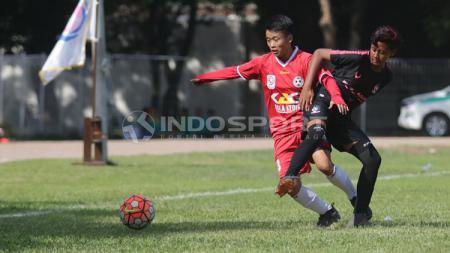Laga Candra Kirana vs Jakarta 69 di Women Football Camp 2018. - INDOSPORT