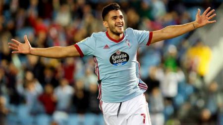 Gomez, pemain Celta Vigo - INDOSPORT
