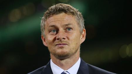 Ole Gunnar Solskjaer, pelatih sementara Manchester United. - INDOSPORT