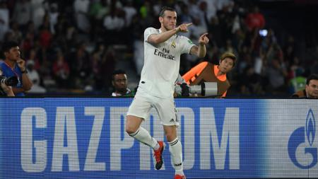 Gareth Bale, pemain megabintang Real Madrid. - INDOSPORT