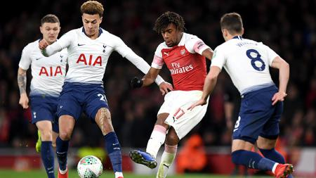 Duel panas antara Arsenal vs Tottenham Hotspur dalam tajuk Derbi London Utara akan menghiasi pekan keempat Liga Inggris 2019/20. - INDOSPORT