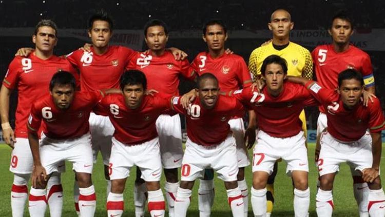 Skuat Timnas Indonesia di Piala AFF 2010. Copyright: United Indonesia