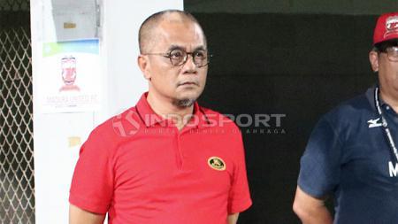 Manajer Madura United, Haruna Soemitro. - INDOSPORT