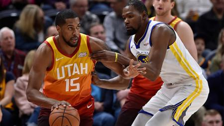 Golden State vs Utah Jazz. - INDOSPORT
