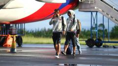 Indosport - Tim PSM Makassar tiba di Ternate pagi tadi