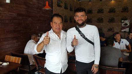 Diego Michiels jelang Alex Noerdin Cup 2018. - INDOSPORT