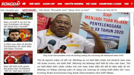 Pemberitaan media Vietnam soal pengaturan skor final Piala AFF 2018. - INDOSPORT