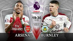 Indosport - Pertandingan Arsenal vs Burnley.