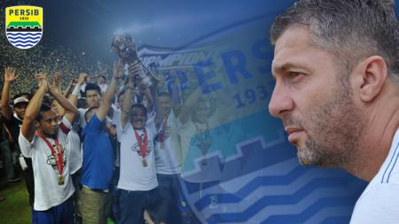 Miljan Radovic, pelatih baru Persib Bandung. - INDOSPORT