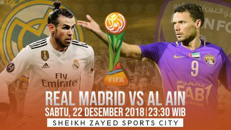 Prediksi pertandingan Real Madrid vs Al Ain - INDOSPORT
