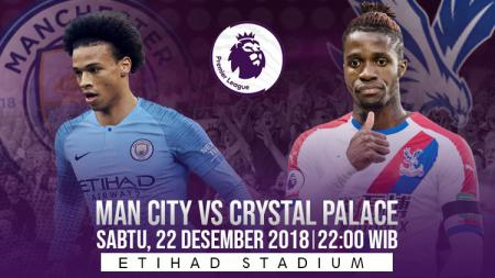 Prediksi pertandingan Manchester City vs Crystal Palace - INDOSPORT