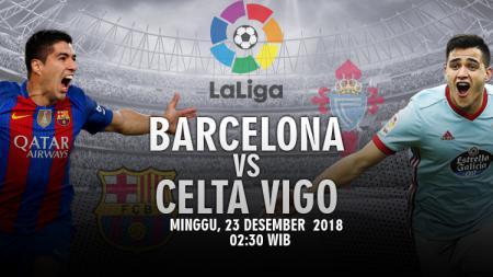 Prediksi pertandingan Barcelona vs Celta Vigo. - INDOSPORT