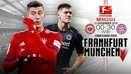 Pertandingan Eintracht Frankfurt vs Bayern Munchen. - INDOSPORT