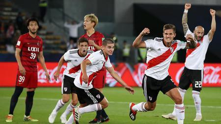 River Plate mengalahkan Kashima Antlers di laga perebutan tempat ketiga Piala Dunia Antarklub 2018. - INDOSPORT