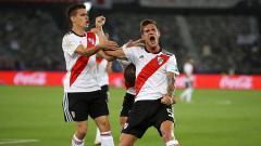 Indosport - River Plate saat berlaga di Copa Libertadores.
