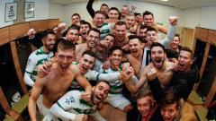 Indosport - Egy Maulana Vikri di kamar ganti Lechia Gdansk usai menjalani debut di tim utama.