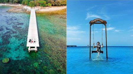 Tanjung Lesung pun memiliki sejumlah spot menarik dan alami untuk dijadikan sebagai background selfie dan wefie. - INDOSPORT