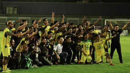Skuat Bogor FC yang promosi ke Liga 2 2019. - INDOSPORT