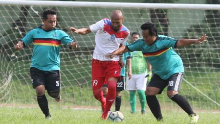 Pertandingan reuni alumni Diklat Salatiga vs PSIS Legend. - INDOSPORT