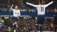 Indosport - Manchester United dikabarkan semakin dekat mendatangkan gelandang Tottenham Hotspur, Christian Eriksen.