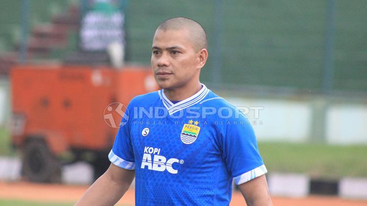 Tantan di Stadion Siliwangi, Kota Bandung. Copyright: Arif Rahman/INDOSPORT