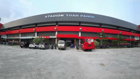 Stadion Tuah Pahoe, kandang Kalteng Putra. - INDOSPORT