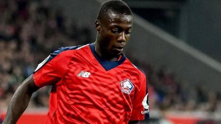 Nicolas Pepe, pemain Lille yang kabarnya semakin dekat ke Arsenal atau Napoli. - INDOSPORT