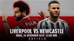 Indosport - Prediksi pertandingan Liverpool Vs Newcastle United