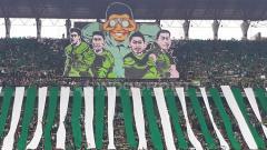 Indosport - Dukungan Bonek kepada Persebaya Surabaya