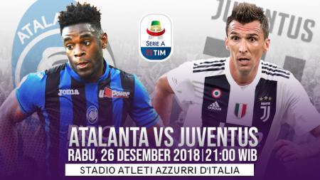 Prediksi pertandingan Atalanta vs Juventus - INDOSPORT