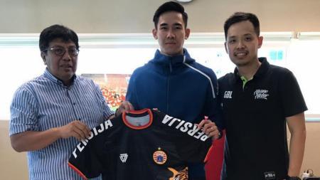 Resmi, Ryuji Utomo bergabung kembali ke Persija musim ini, ia dikontrak dengan durasi kontrak dua tahun. - INDOSPORT
