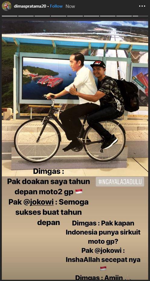 Dimas Ekky Pratama Copyright: Instagram/@dimaspratama20