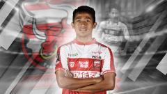Indosport - Bayu Gatra resmi tinggalkan Madura United