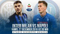 Indosport - Prediksi pertandingan Inter Milan vs Napoli