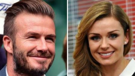 Hubungan Katherine Jenkins dan David Beckham belum membaik hingga saat ini. - INDOSPORT