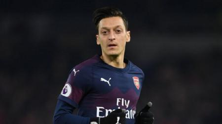 Mesut Ozil, striker Arsenal - INDOSPORT