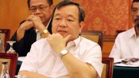 Anggota Exco PSSI, Johar Lin Eng, yang juga ketua Asosiasi Provinsi (Asprov) PSSI Jateng muncul dalam pusaran dugaan pengaturan skor. - INDOSPORT