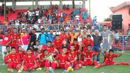 Skuat Persinga Ngawi yang berlaga di Liga 3 - INDOSPORT