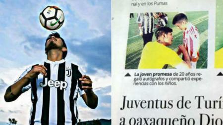 Pemain klub Meksiko yang mengaku menjadi wonderkid Juventus - INDOSPORT